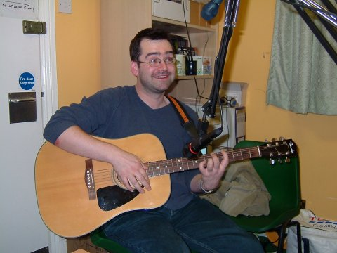 June 2004 at Phoenix FM in Brentwood - I'm not really playing that chord ""